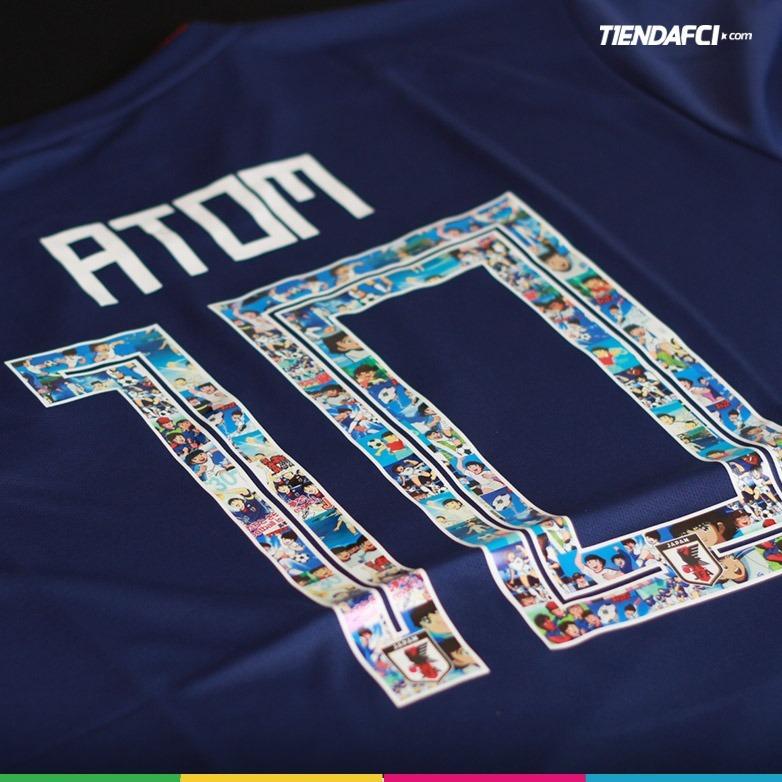 camiseta japon super campeones captain tsubasa adidas atom