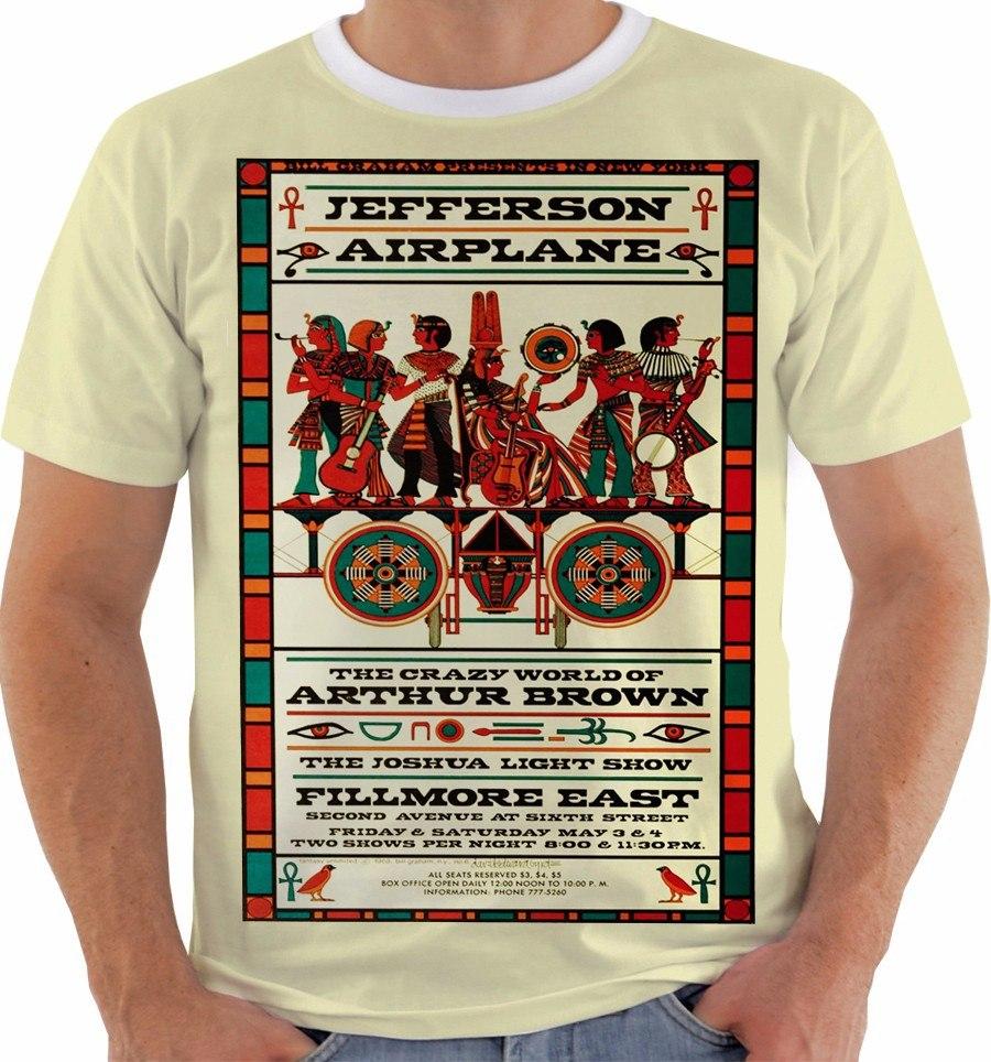 Camiseta Jeferson Airplane Concert Poster Live Fillmore M086 - R  49 ... 2dae6f03cac