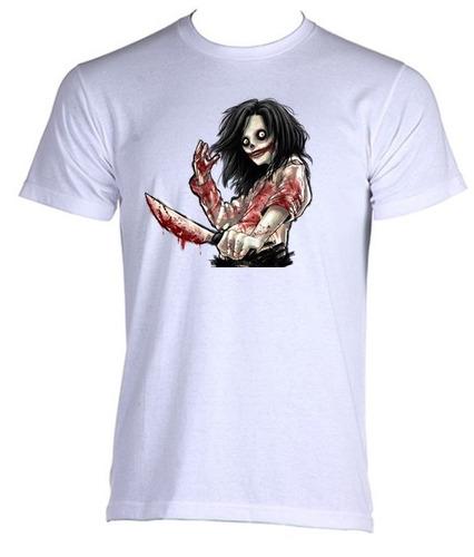 camiseta jeff the killer e - do p ao gg