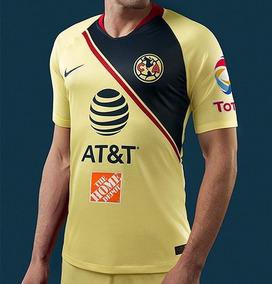a86d23046 Camiseta Jersey Nike Club América Liguilla 2019 Para Hombre
