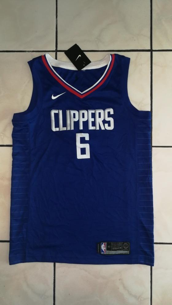 release date: cce8b a7b49 Camiseta Jersey Nike Nba Los Angeles Clippers Deandre Jordan