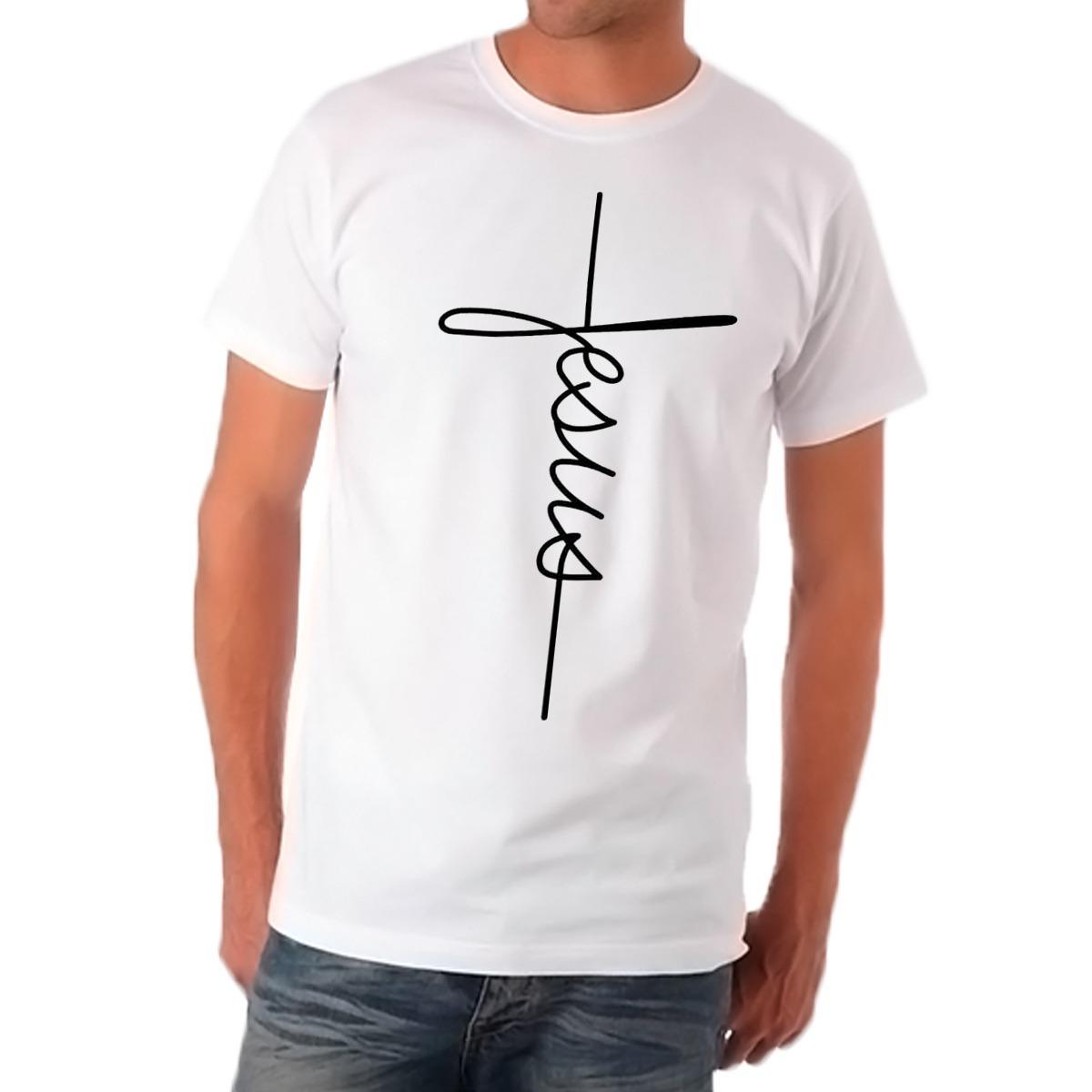 3d3271850 camiseta jesus cruz camisa religião religiosa. Carregando zoom.