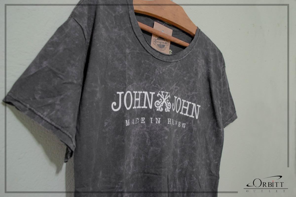 Camiseta Jhon Jhon - Estampada - R  54 2b40448361f81
