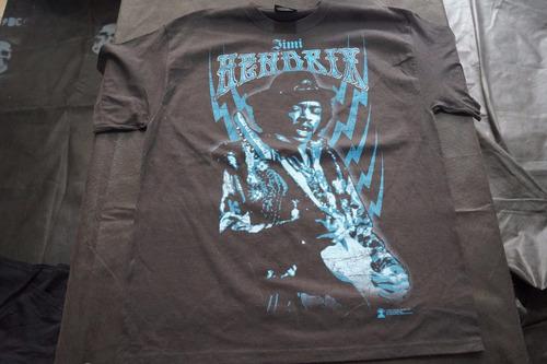 camiseta jimmy hendrix importada rock activity talla l