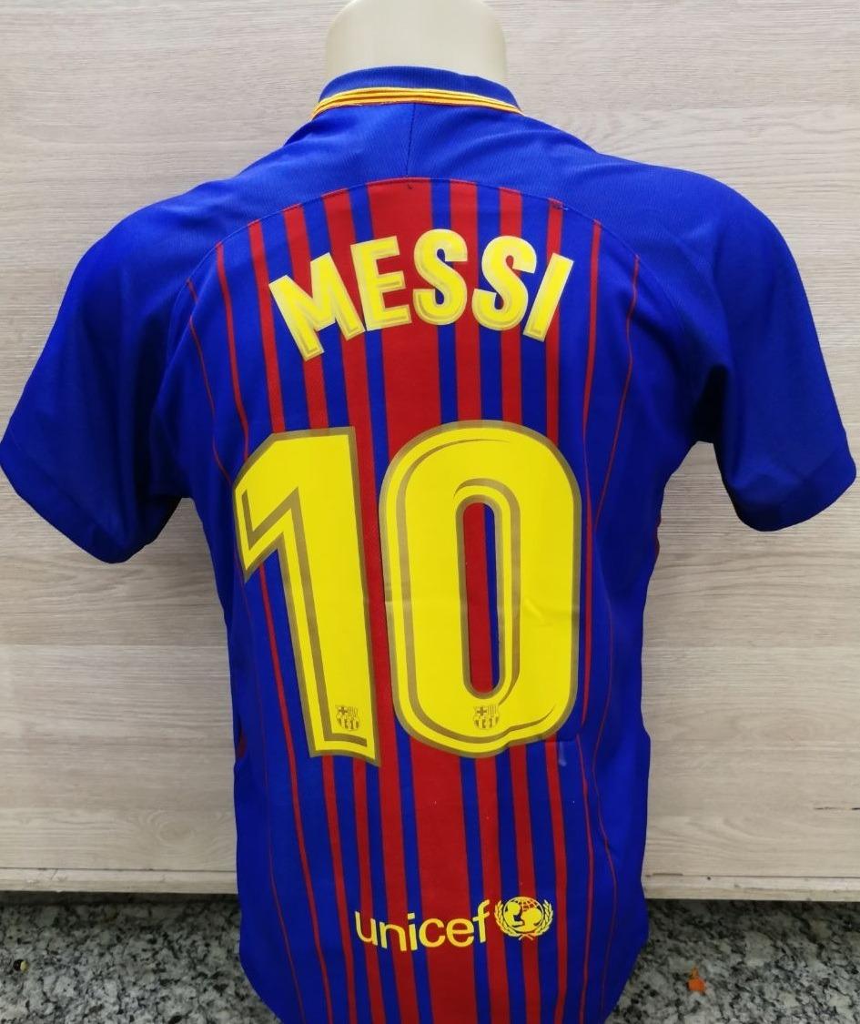 Camiseta Jogo Barcelona Oficial 2018 (uniforme  fb575d64aaa94