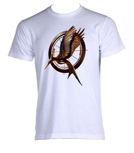 camiseta jogos vorazes - hunger games - b - do  p ao gg