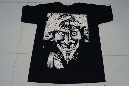 camiseta joker guason comics dc rock activity