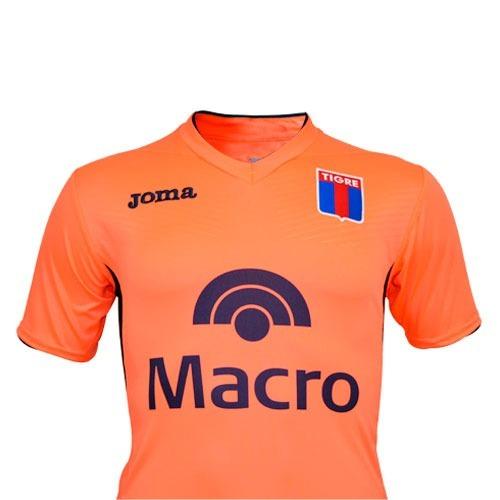 camiseta joma tigre futbol suplente naranja hombre 2018