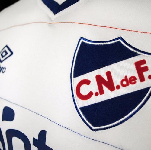camiseta jr. club nacional de football | umbro - blanca