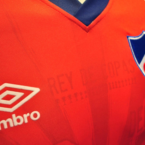 camiseta jr. club nacional de football | umbro | roja 2016