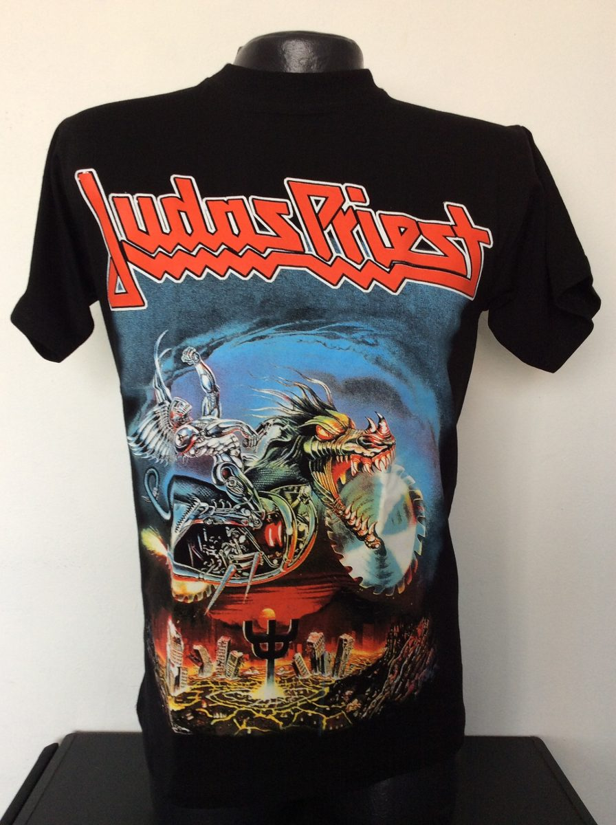 Camiseta Judas Priest Painkiller Rock Metal Comics Anime -   19.990 ... 6a74c020d26