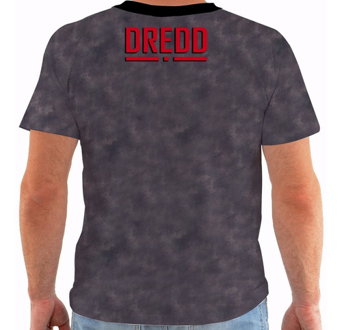 camiseta juiz dredd - movies - hq