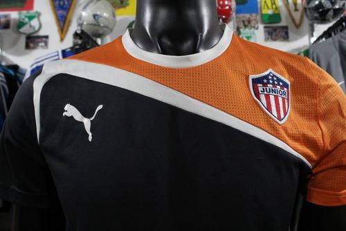 camiseta junior de barranquilla puma entreno talla m xdx
