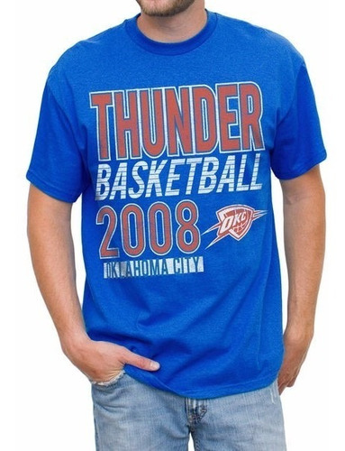 camiseta junk food original nba thunder ¡envío gratis!
