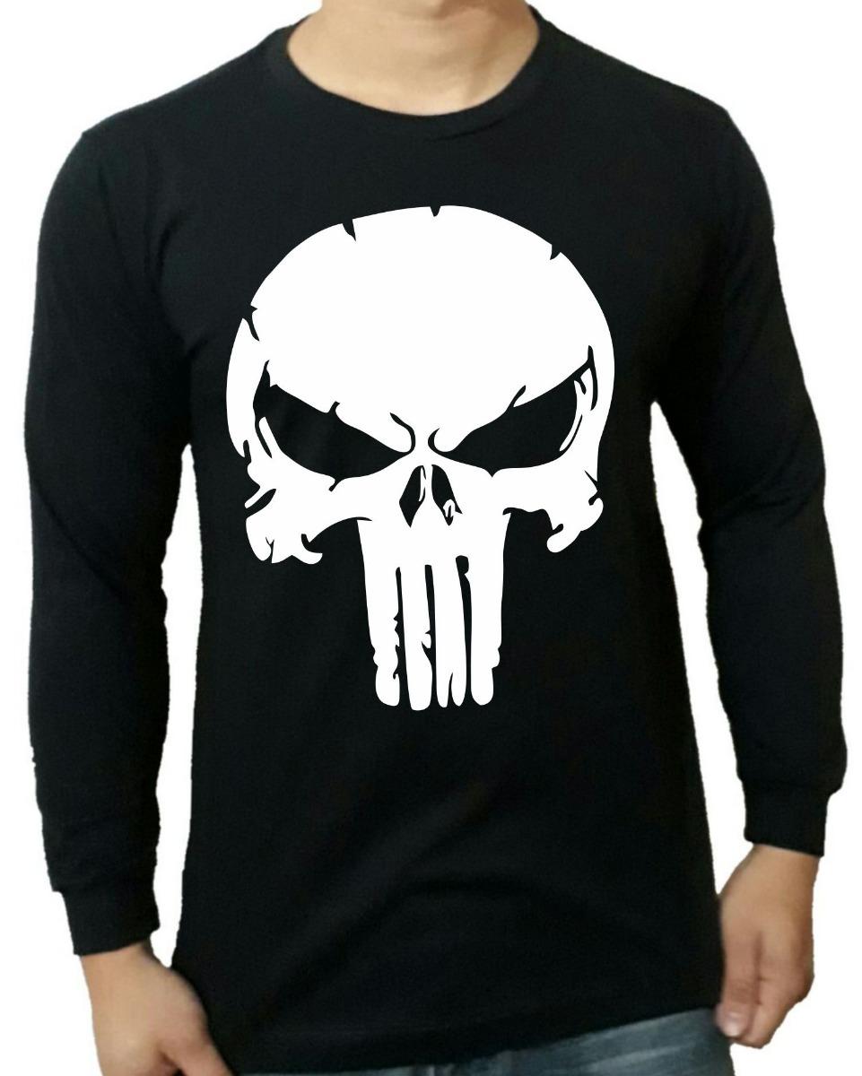 702a76030cf camiseta justiceiro manga longa punisher netflix marvel. Carregando zoom.