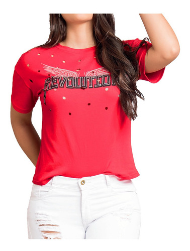 camiseta juvenil femenino marketing personal 32442