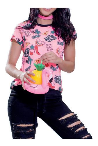 camiseta juvenil femenino marketing personal 68015