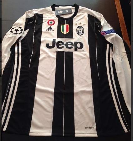 equipacion Juventus manga larga