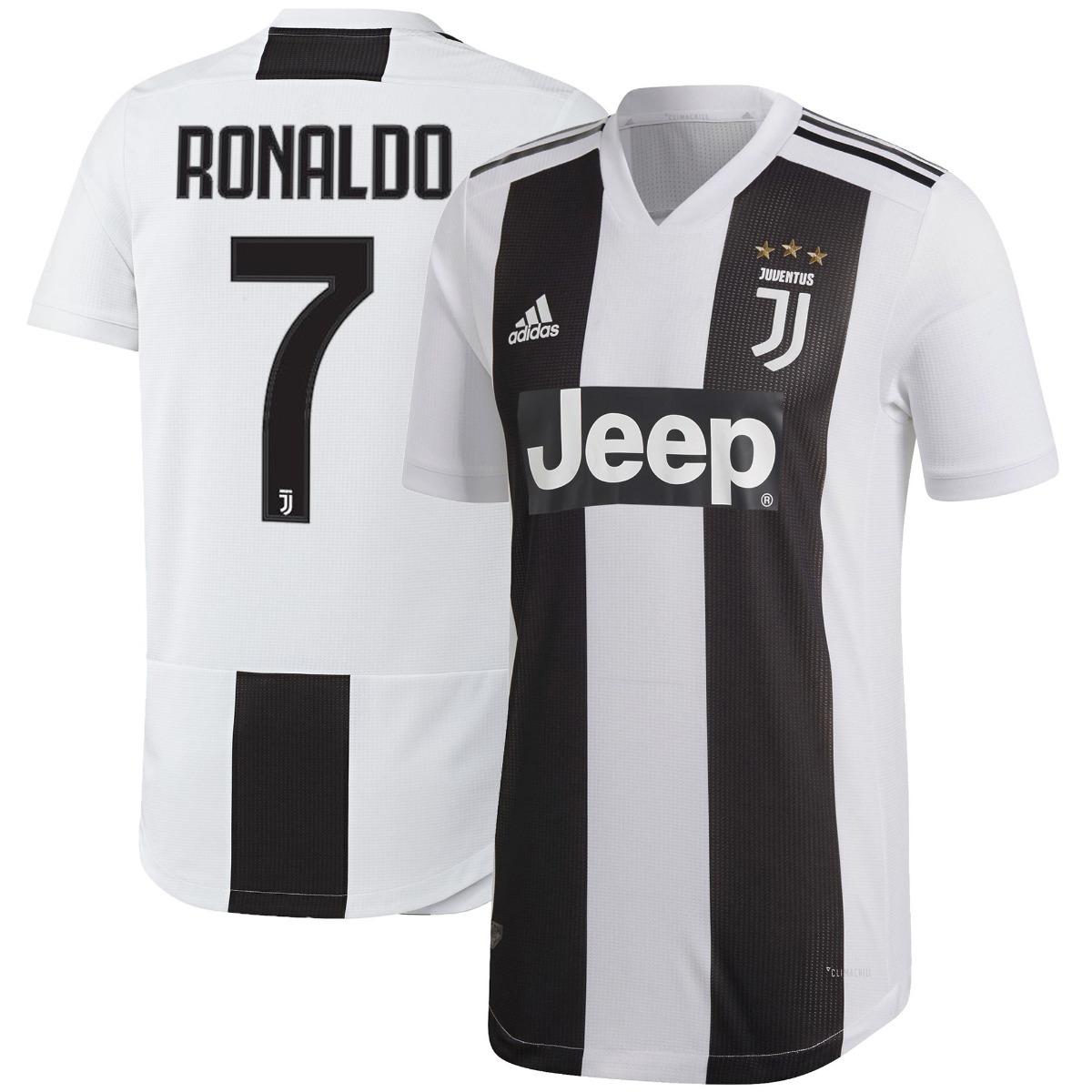 camiseta juventus titular 2018-2019 ronaldo  7 climachill. Cargando zoom. be2f1782bf96c