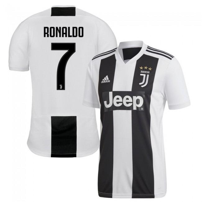 Camiseta Juventus Titular 2019 Ronaldo - Dybala -   1.699 7a52096769161