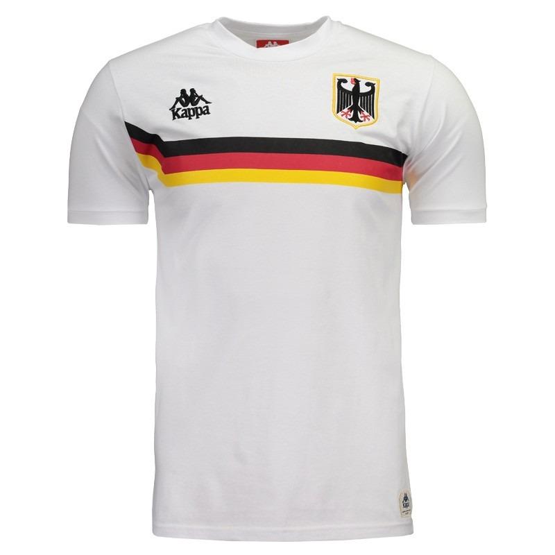 camiseta kappa alemanha branca. Carregando zoom. 3fb603ad661a2