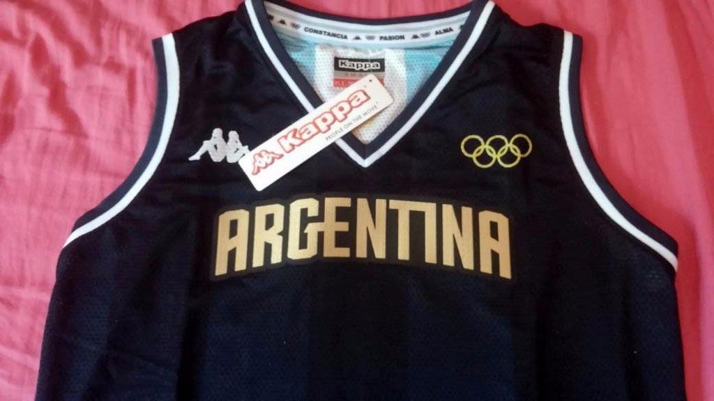 3b44a74df0128 camiseta kappa alternativa cabb argentina básquet rio 2016. Cargando zoom.