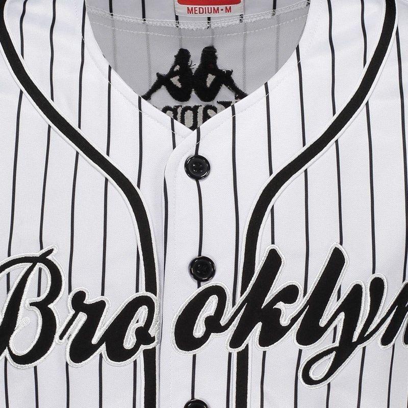 4ec193e6a3 camiseta kappa baseball brooklyn 17. Carregando zoom.
