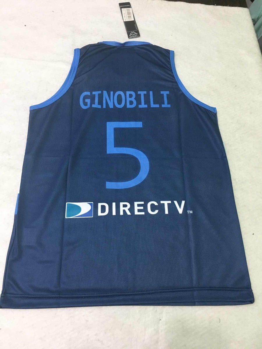25aad5ed273e4 camiseta kappa básquet alternativa argentina ginobili. Cargando zoom.