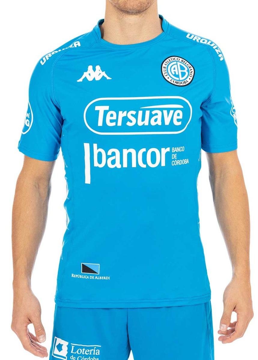 camiseta kappa belgrano home player jersey 2018. Cargando zoom. 5dd4211900e57