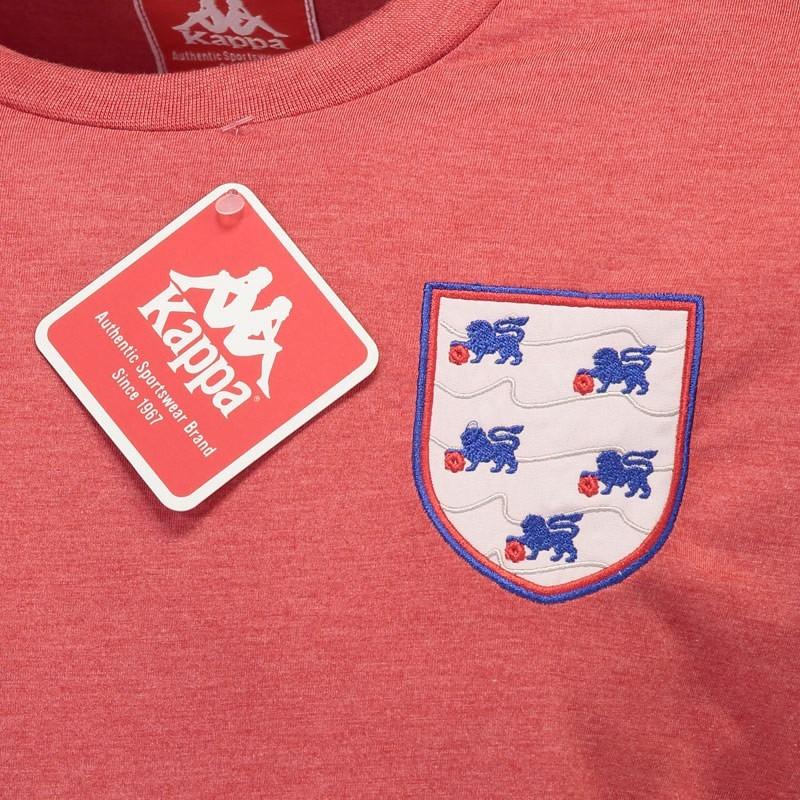 86a59c908a camiseta kappa inglaterra vermelha - futfanatics. Carregando zoom.