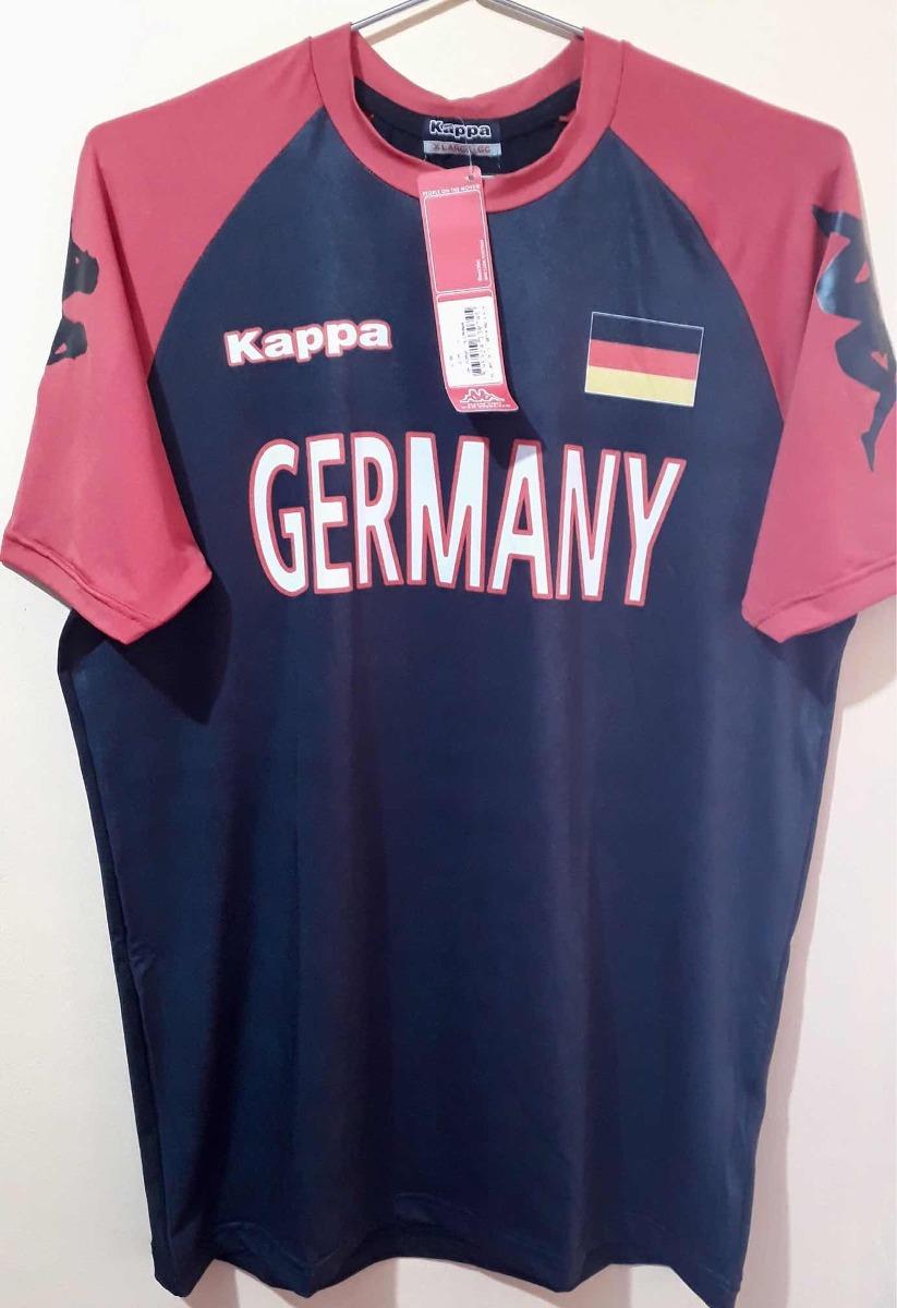 camiseta kappa kombat alemanha - tamanho gg xg. Carregando zoom. 7ea25207598c8