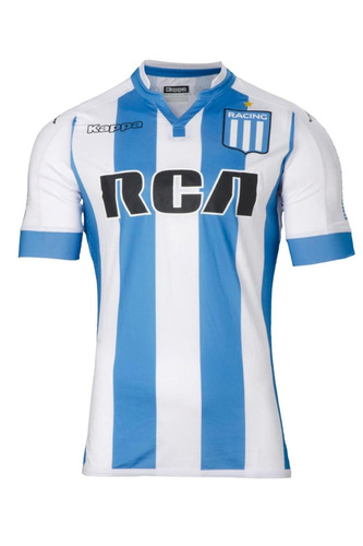 camiseta kappa racing club 2017 player bc/ct newsport