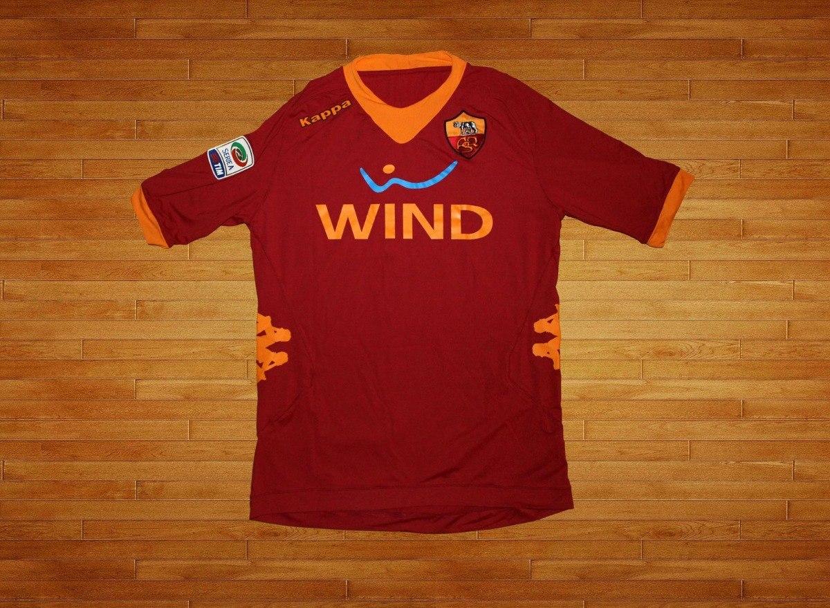 6ca73e8c2abf4 Camiseta Kappa Roma 2011-12