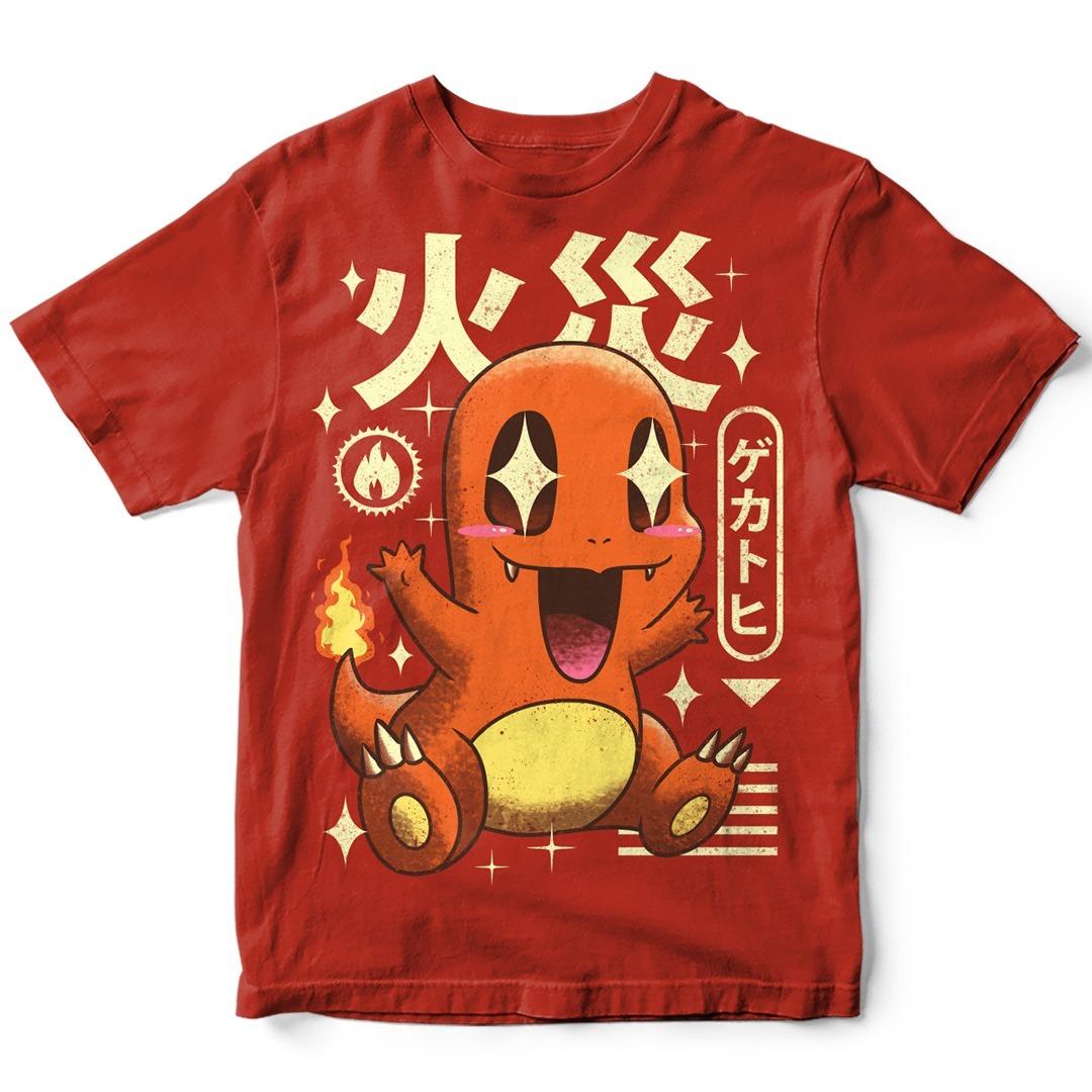camiseta kawaii charmander pokemon anime desenho tv tumblr r 74