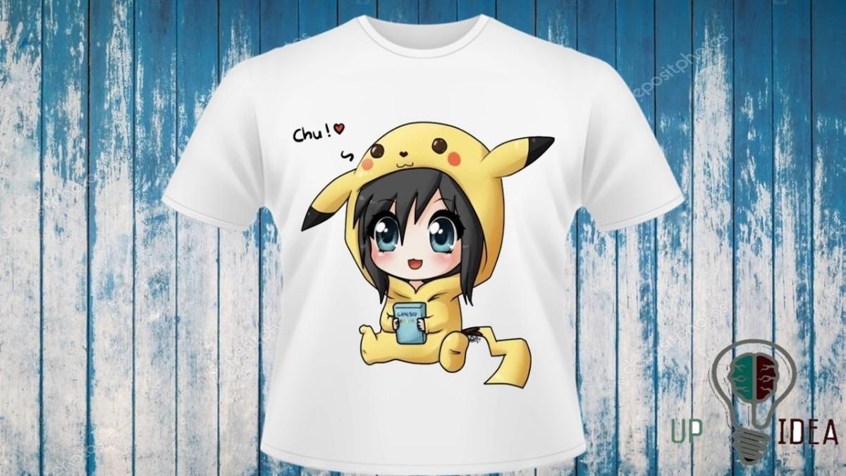 camiseta kawaii desenho fofos cod 5611 r 28 00 em mercado livre