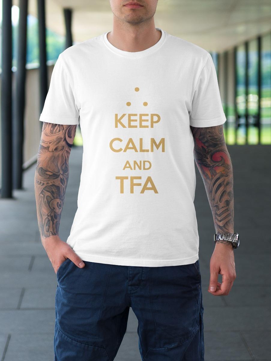 camiseta keep calm and tfa - maçonaria. Carregando zoom. edca44e7eae