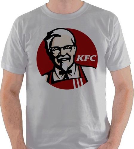 camiseta kfc estados unidos logo usa fast food camisa blusa