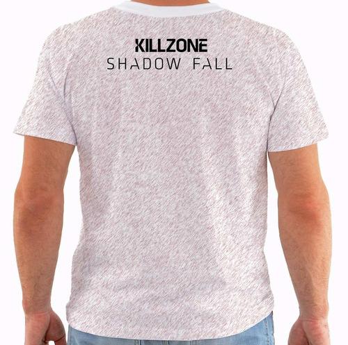 camiseta killzone shadow fall - games m269