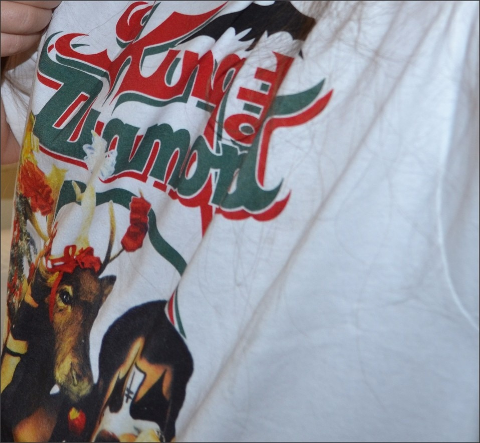 Camiseta King Diamond - No Presents For Christmas Mercyful F - R ...