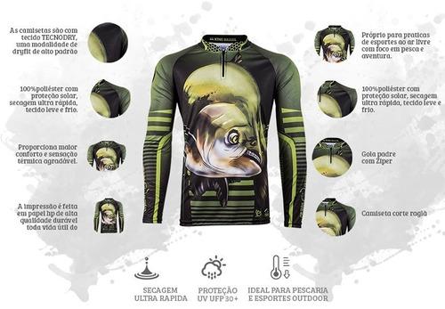 camiseta king original viking 19 tamba proteção solar