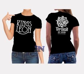 3590b9910547 Camiseta Kings Of Leon - Camisetas e Blusas com o Melhores Preços no  Mercado Livre Brasil