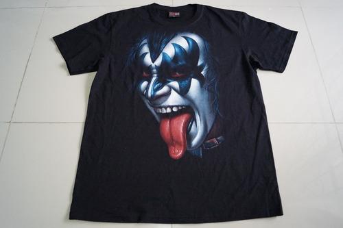 camiseta kiss activity importada talla l