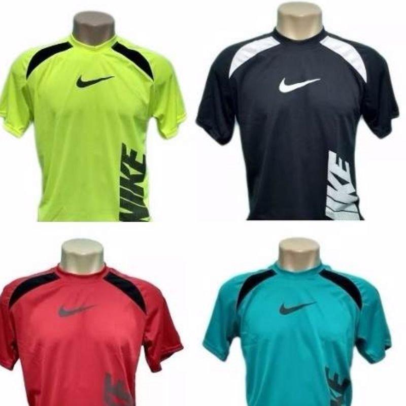 4e2ac1c2a2 Camiseta Kit 20 Camisas Dry Fit Nike Academia Atacado - R  199