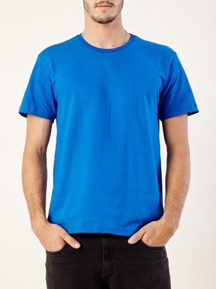 b37c2b320b Camiseta Kit C 5 Pçs Lisa Cores Tecido Dry Fit Frete Grátis - R  125 ...