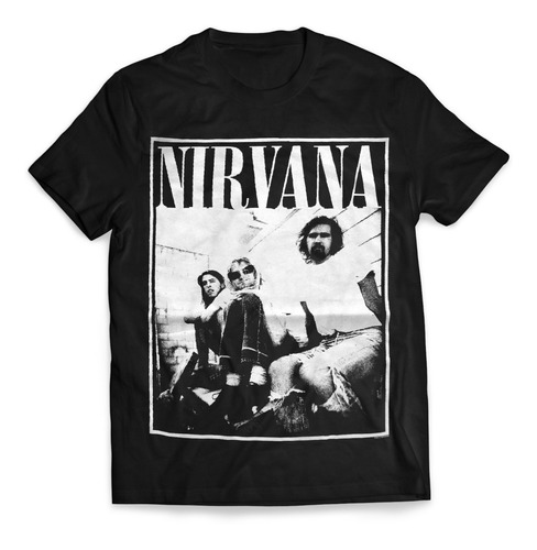 camiseta kurt cobain importada rock activity talla l