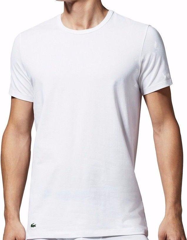 Camiseta Lacoste Basica Underwear Tommy Kit 2 Camiseta - R  70,99 em ... 36ad9f3292