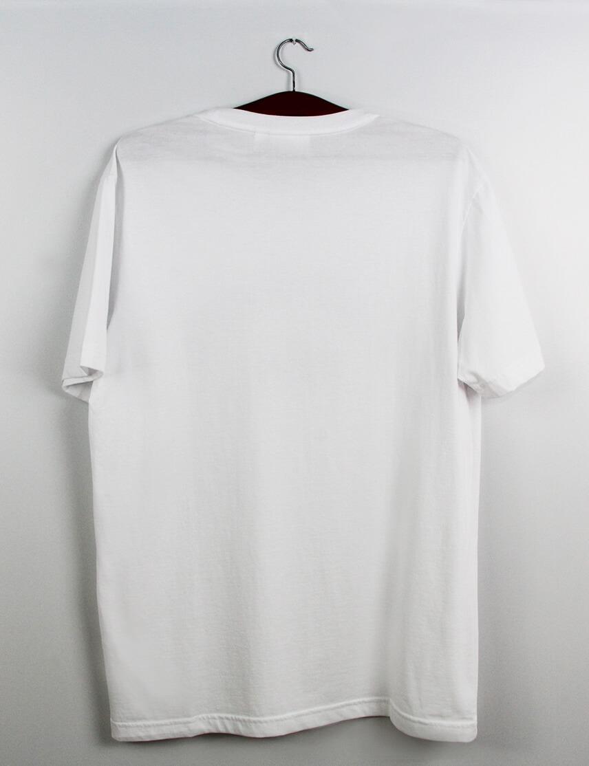 61c7279cd99e2 camiseta lacoste branca estampa cores. Carregando zoom.
