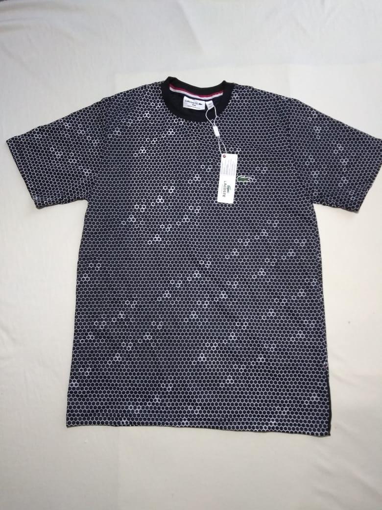 Camiseta Lacoste Colmeia - R  59,99 em Mercado Livre 8f19ae8146