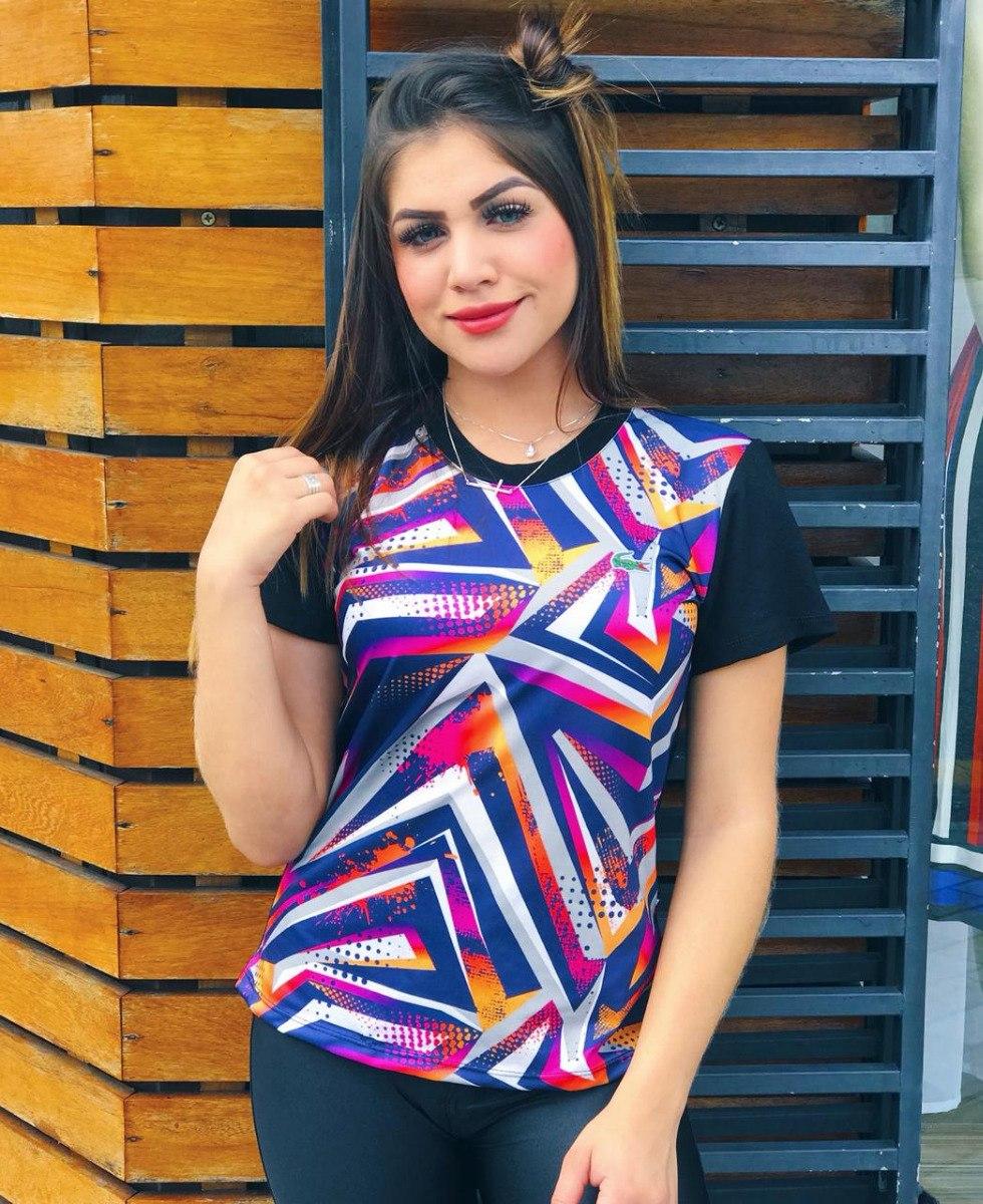 Características. Marca fatiboutique  Modelo Baby Look  Desenho do tecido  Rayado  Gênero Feminino  Material da camiseta Algodão ... 329e5b1b63