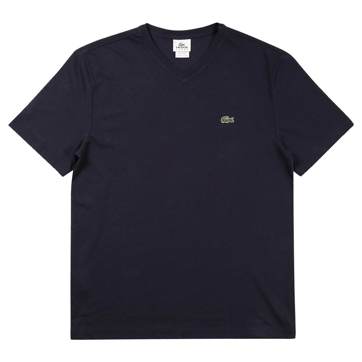 e45b4dc3f8d1a camiseta lacoste gola v masculina th237621 original. Carregando zoom.